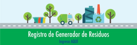 Registro Generador Residuos